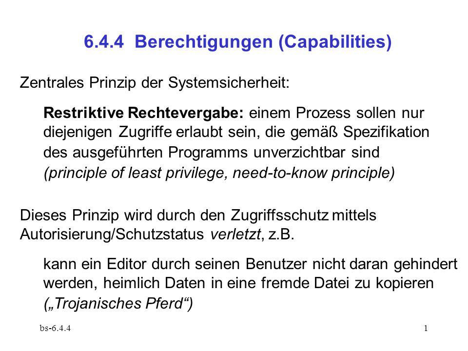 6.4.4 Berechtigungen (Capabilities)