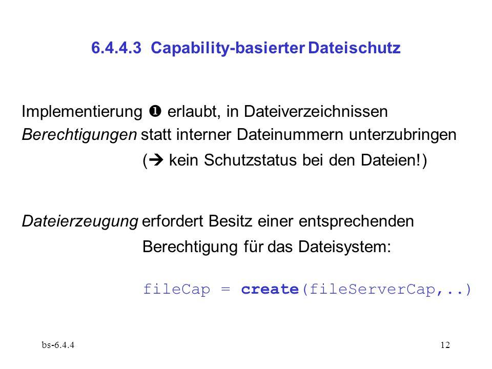 6.4.4.3 Capability-basierter Dateischutz