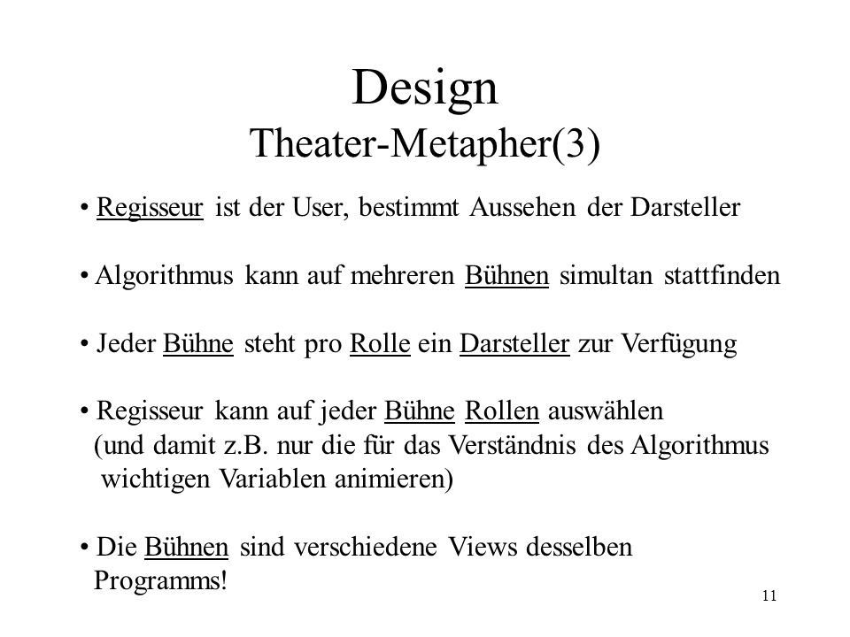 Design Theater-Metapher(3)