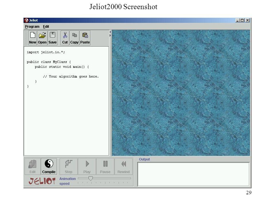 Jeliot2000 Screenshot