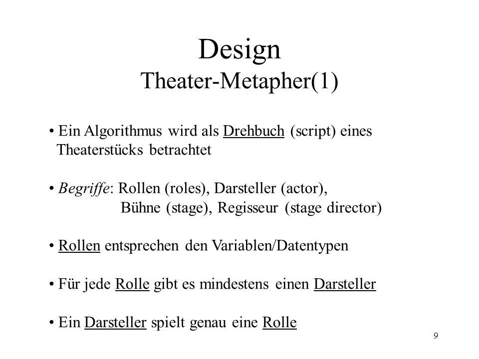 Design Theater-Metapher(1)