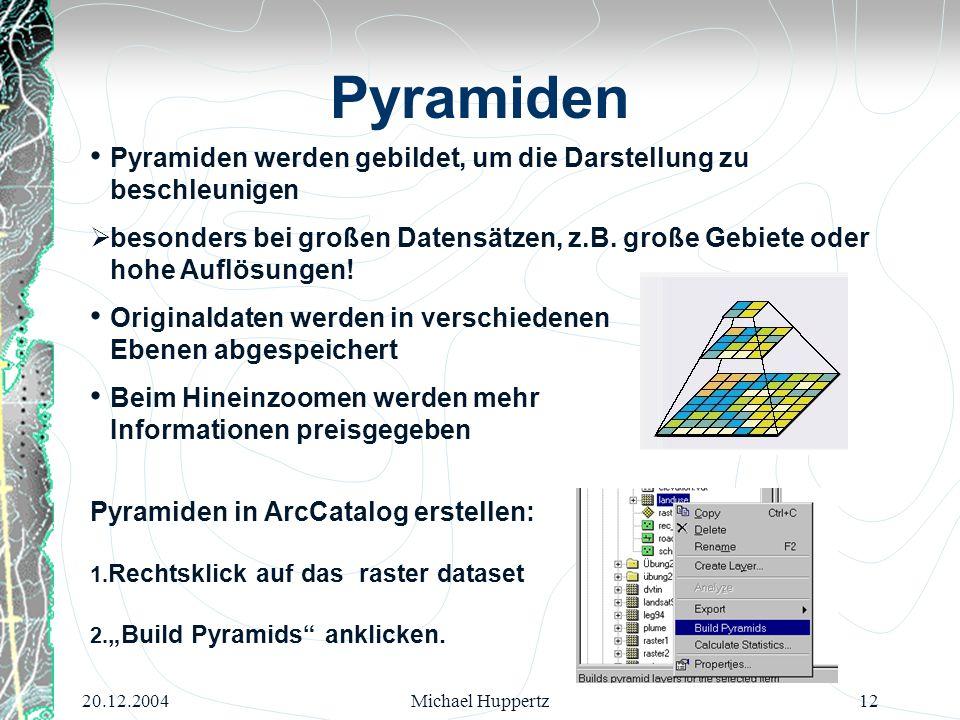 Pyramiden Pyramiden werden gebildet, um die Darstellung zu beschleunigen.