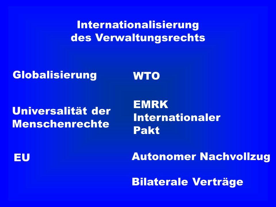 Internationalisierung des Verwaltungsrechts