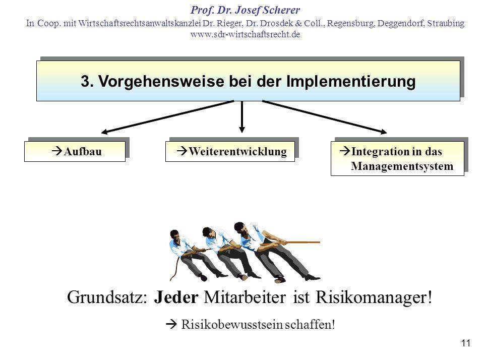3. Vorgehensweise bei der Implementierung