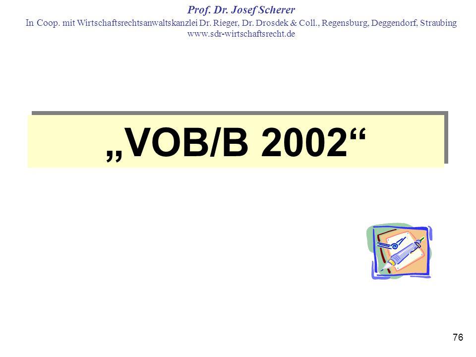 """VOB/B 2002"