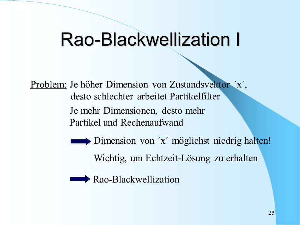 Rao-Blackwellization I