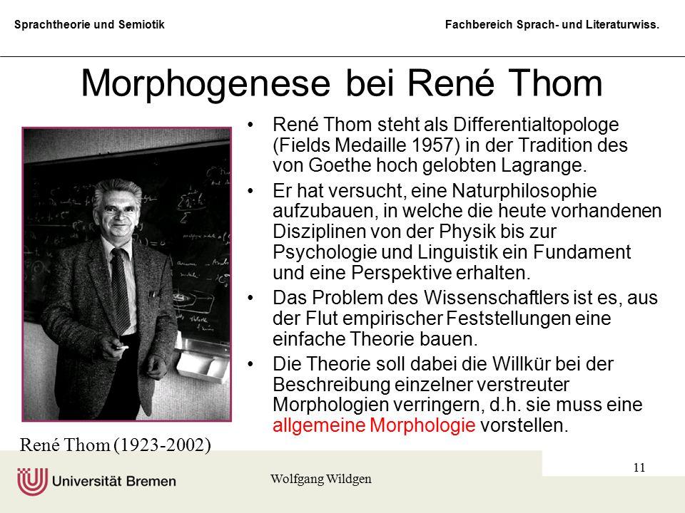 Morphogenese bei René Thom