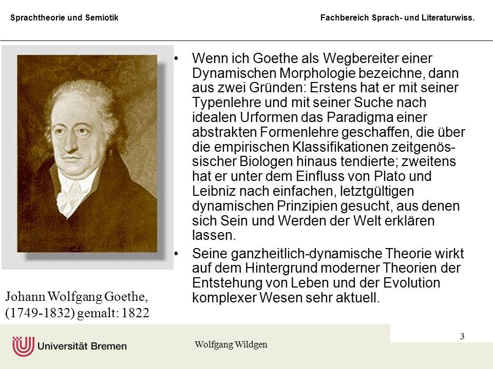 Johann Wolfgang Goethe, (1749-1832) gemalt: 1822