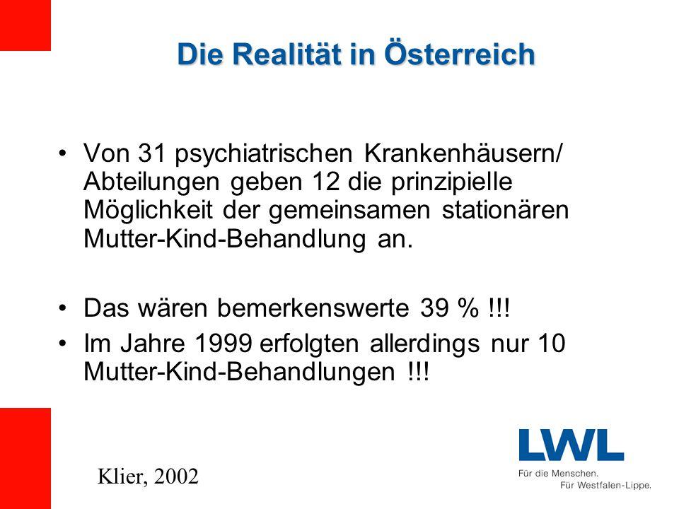 Die Realität in Österreich