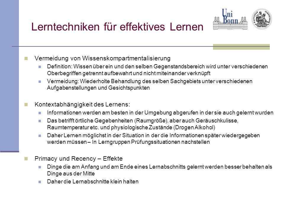 Lerntechniken für effektives Lernen