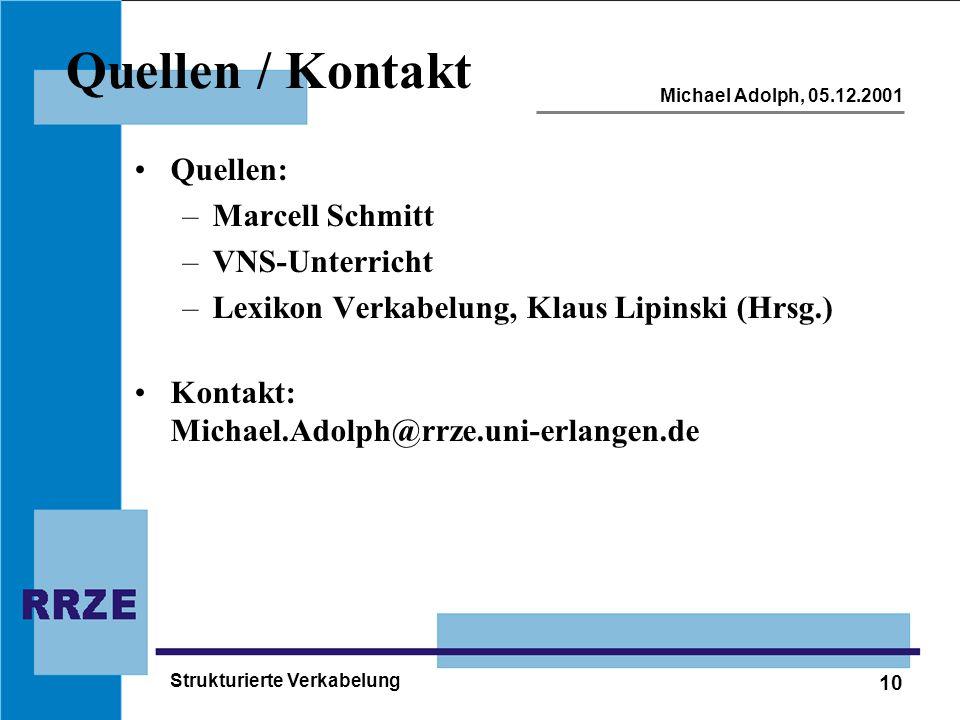 Quellen / Kontakt Quellen: Marcell Schmitt VNS-Unterricht