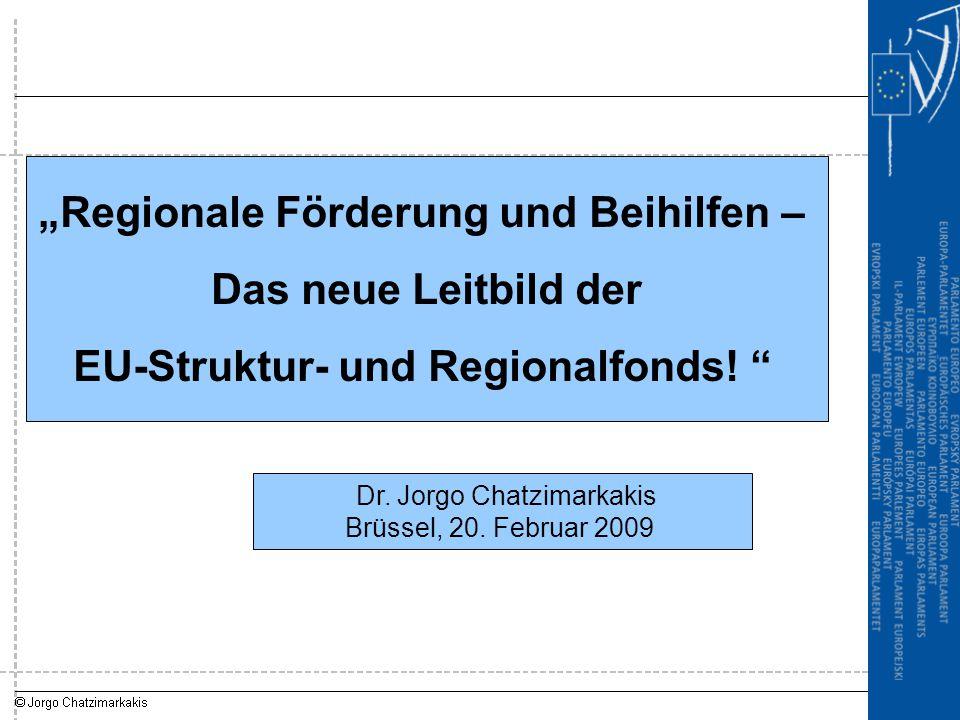 """""""Regionale Förderung und Beihilfen –"""