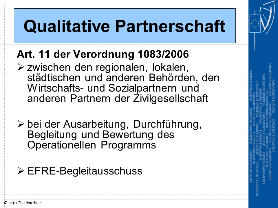 Qualitative Partnerschaft