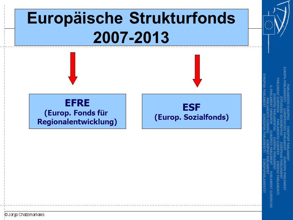 Europäische Strukturfonds 2007-2013
