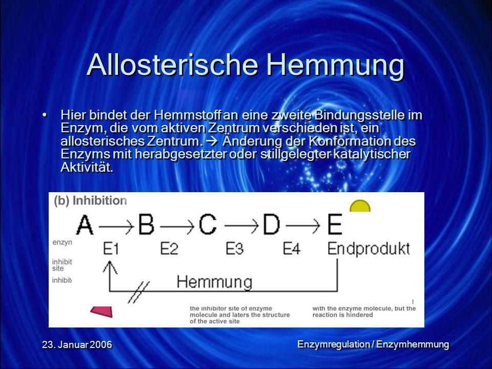 Allosterische Hemmung