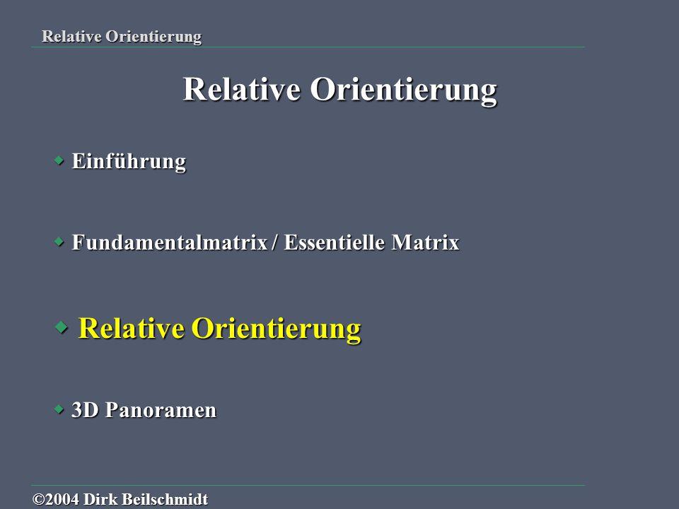 Relative Orientierung