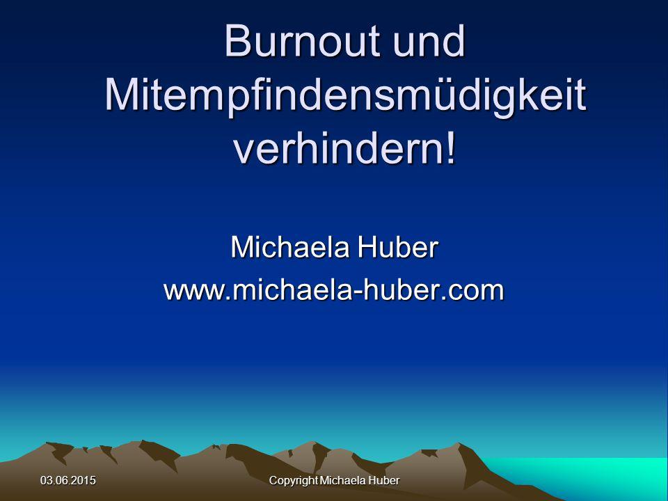 Burnout und Mitempfindensmüdigkeit verhindern!