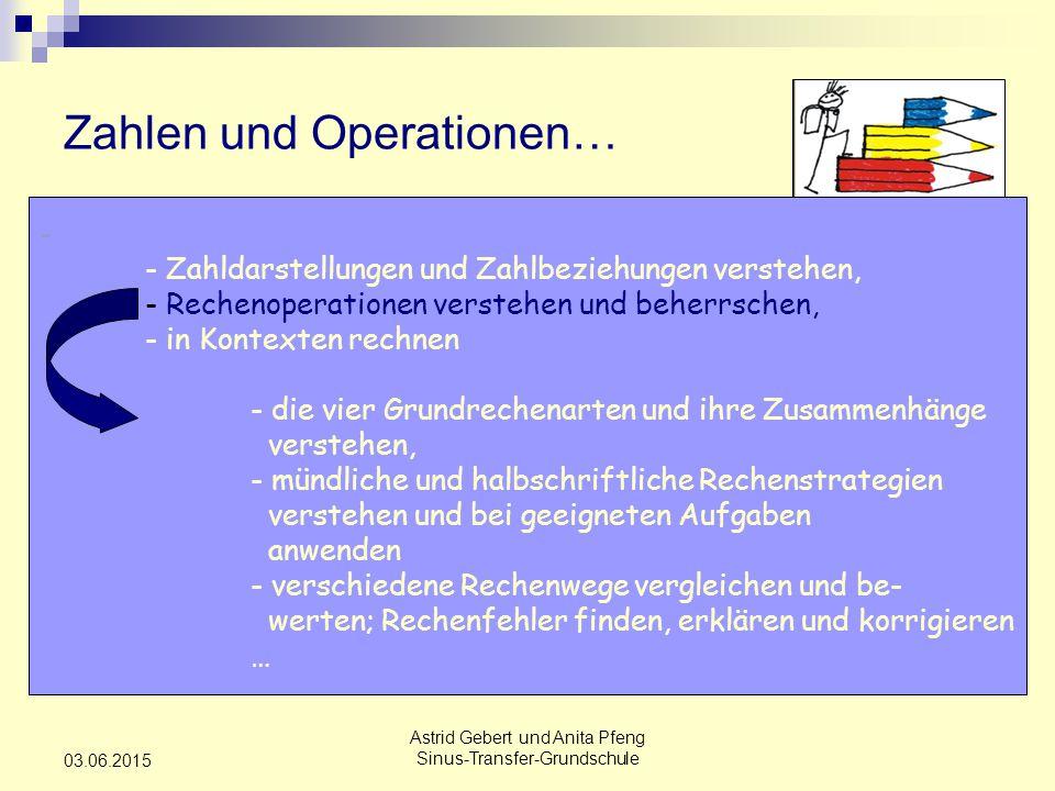 Zahlen und Operationen…