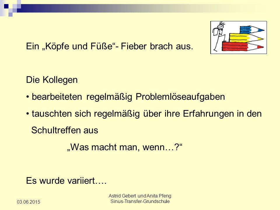 Astrid Gebert und Anita Pfeng Sinus-Transfer-Grundschule