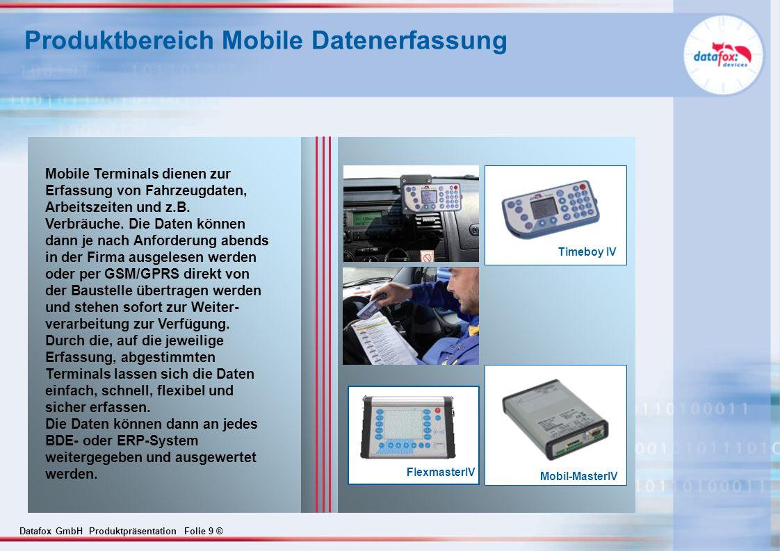 Produktbereich Mobile Datenerfassung