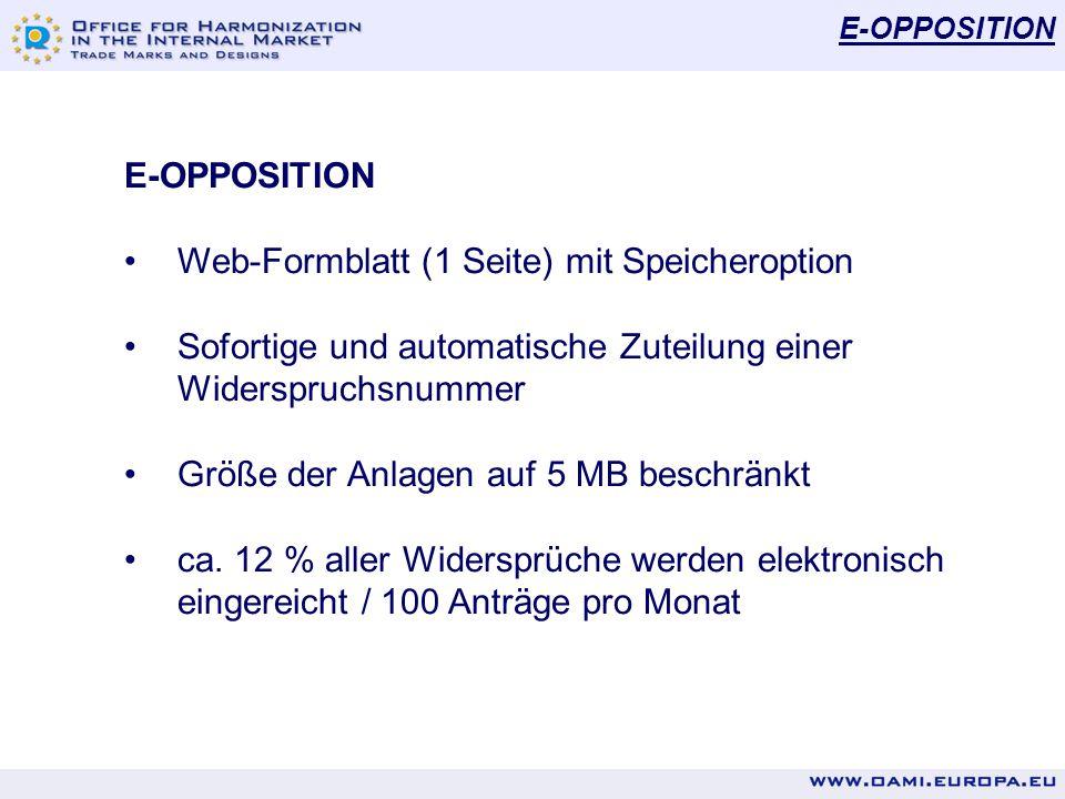Web-Formblatt (1 Seite) mit Speicheroption