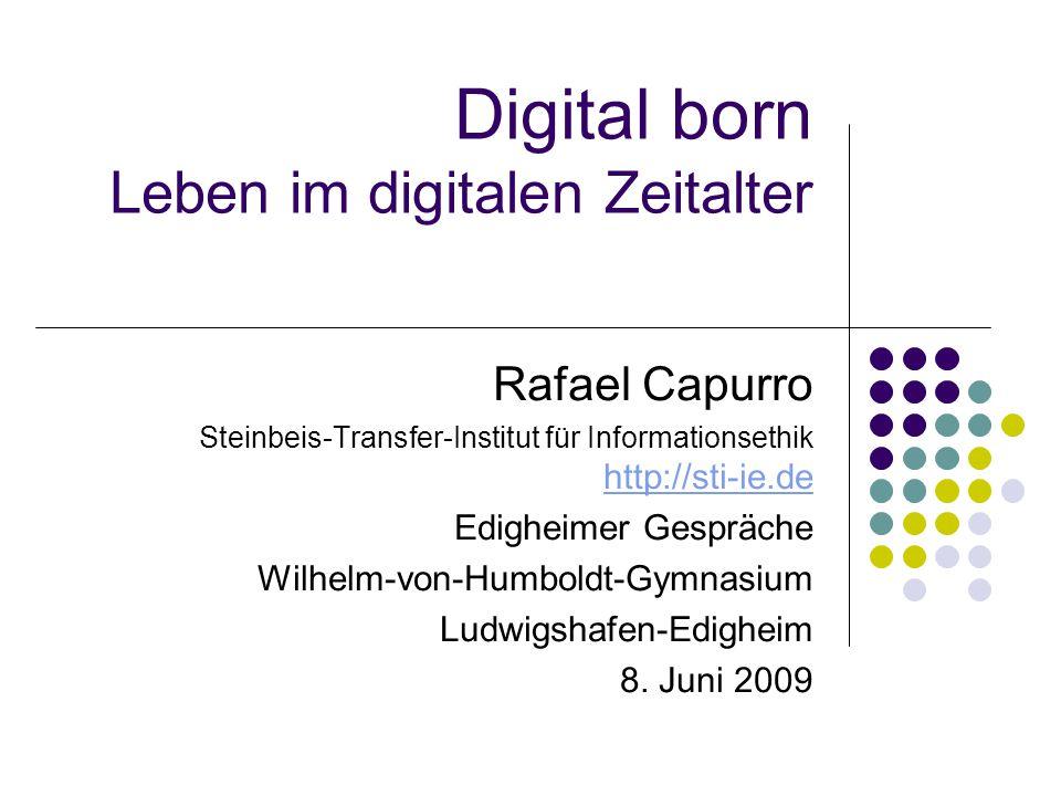 Digital born Leben im digitalen Zeitalter