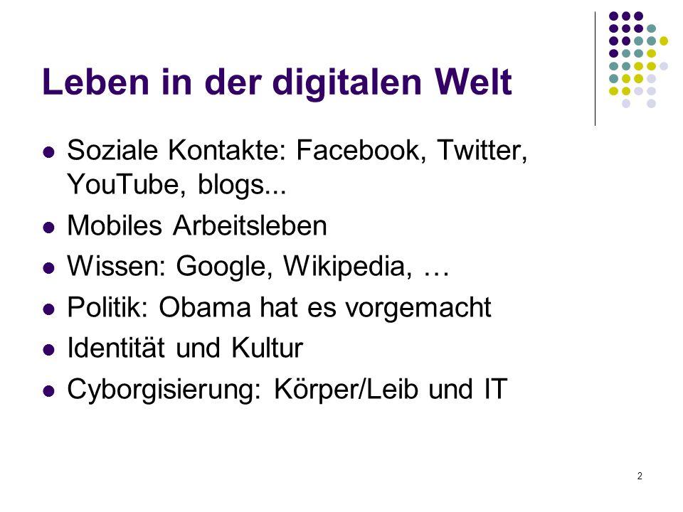 Leben in der digitalen Welt