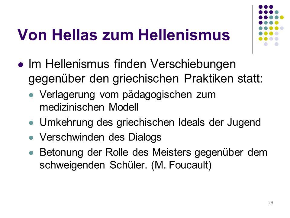 Von Hellas zum Hellenismus