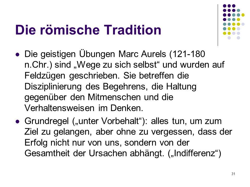 Die römische Tradition