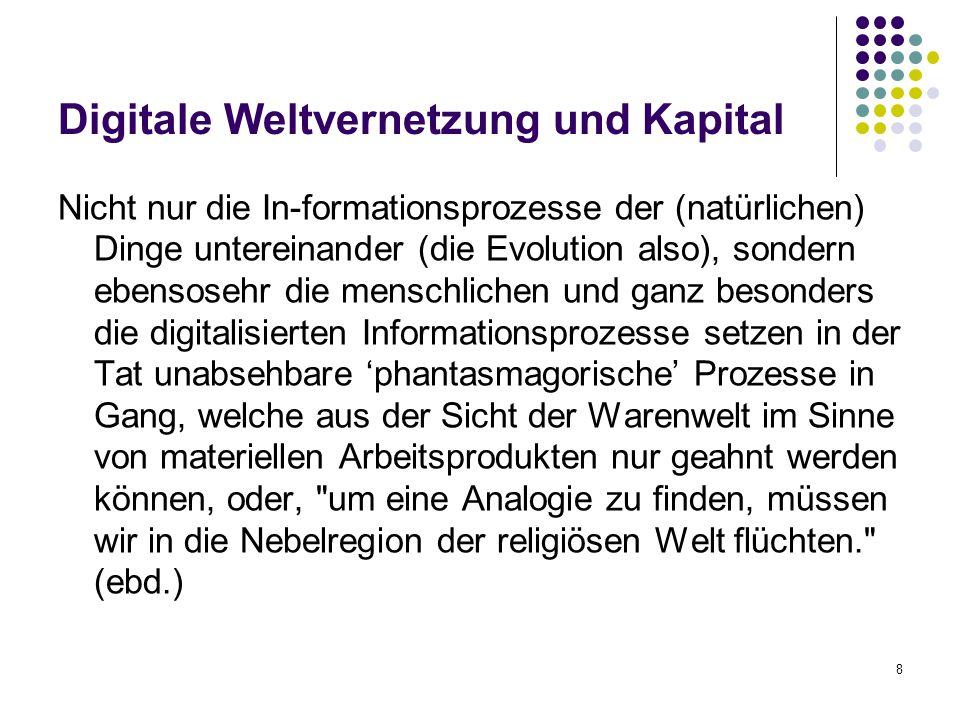 Digitale Weltvernetzung und Kapital