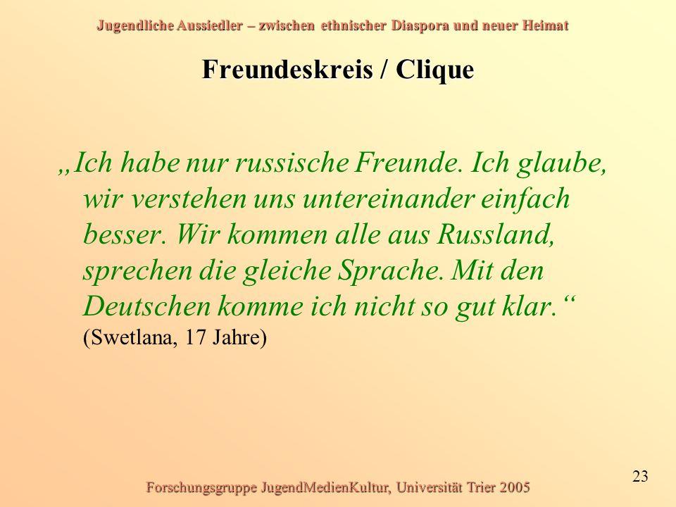 Freundeskreis / Clique