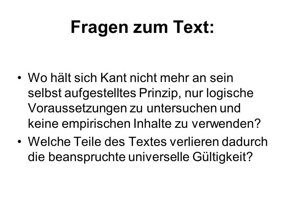 Fragen zum Text:
