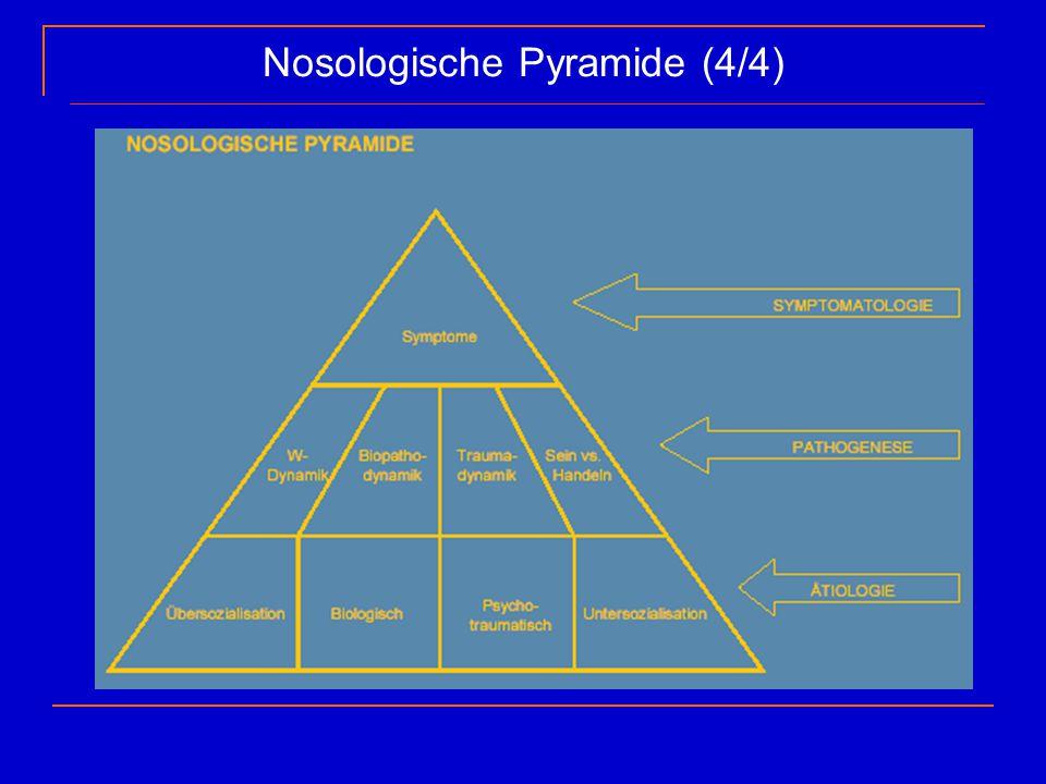 Nosologische Pyramide (4/4)