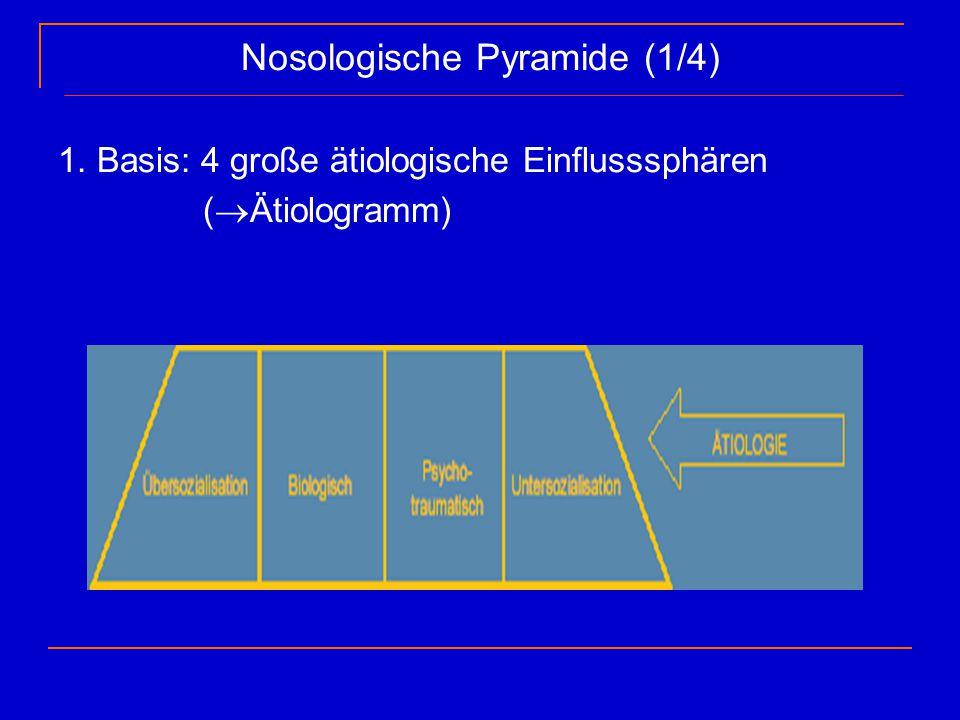 Nosologische Pyramide (1/4)
