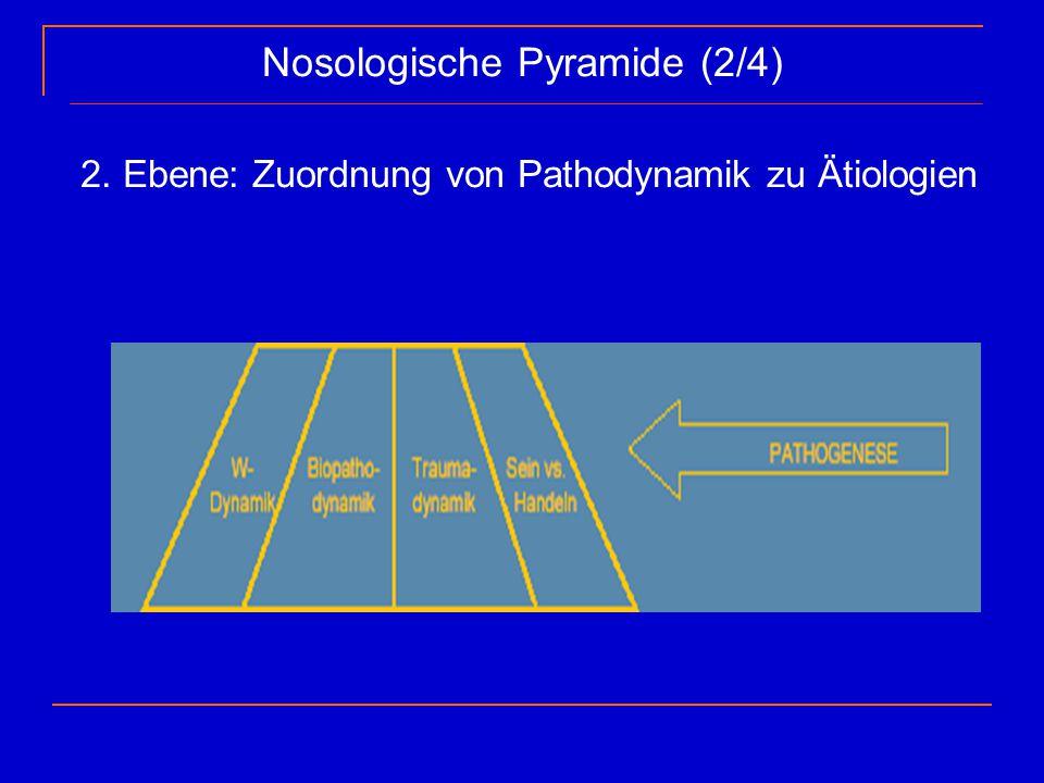 Nosologische Pyramide (2/4)