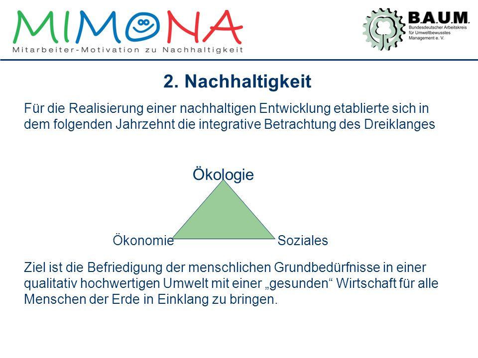 2. Nachhaltigkeit Ökologie