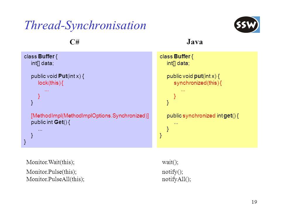 Thread-Synchronisation