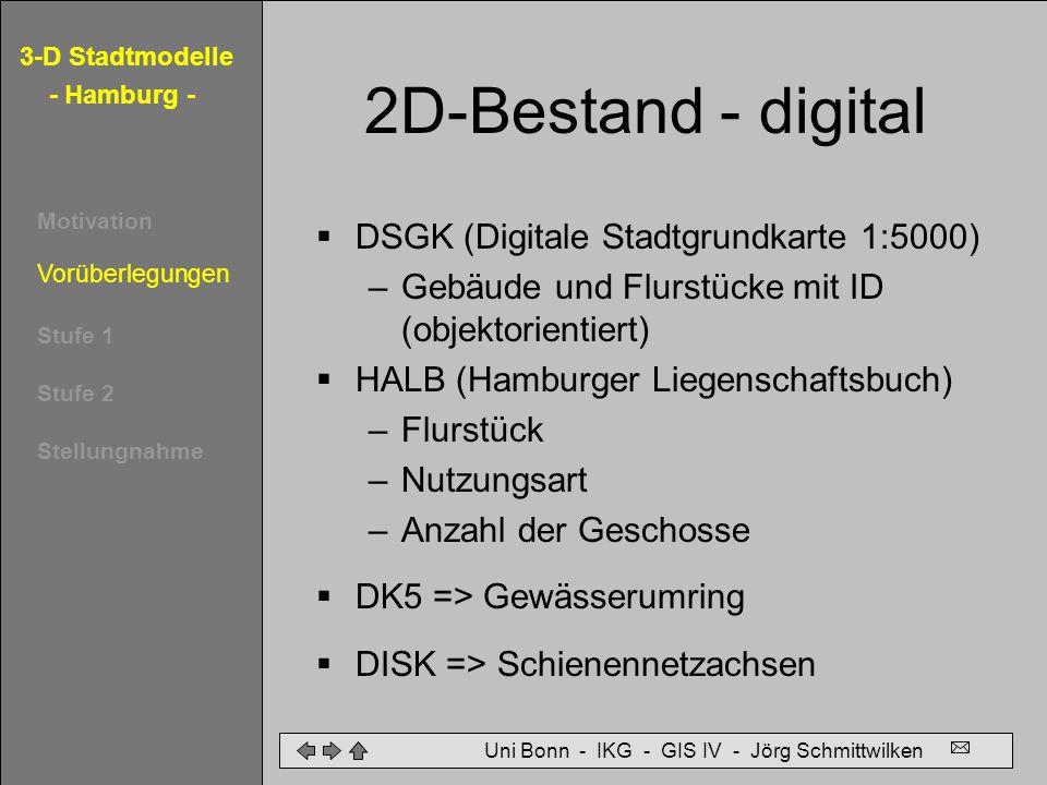 2D-Bestand - digital DSGK (Digitale Stadtgrundkarte 1:5000)