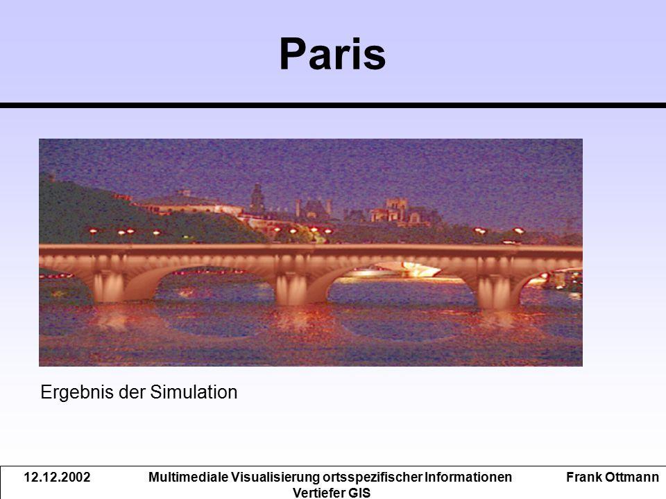 Multimediale Visualisierung ortsspezifischer Informationen