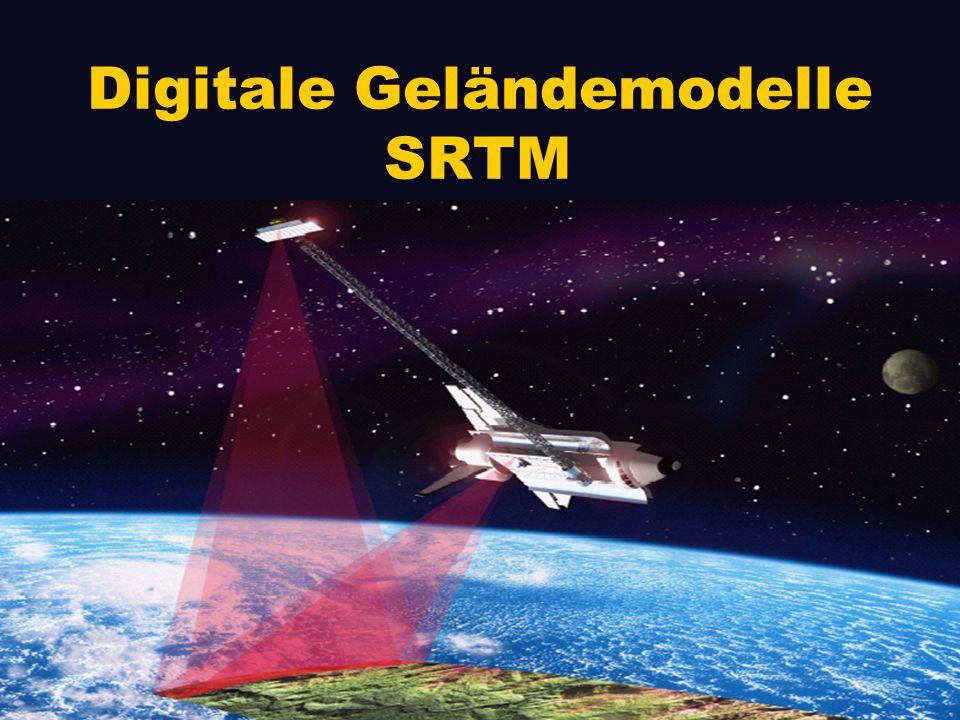 Digitale Geländemodelle SRTM
