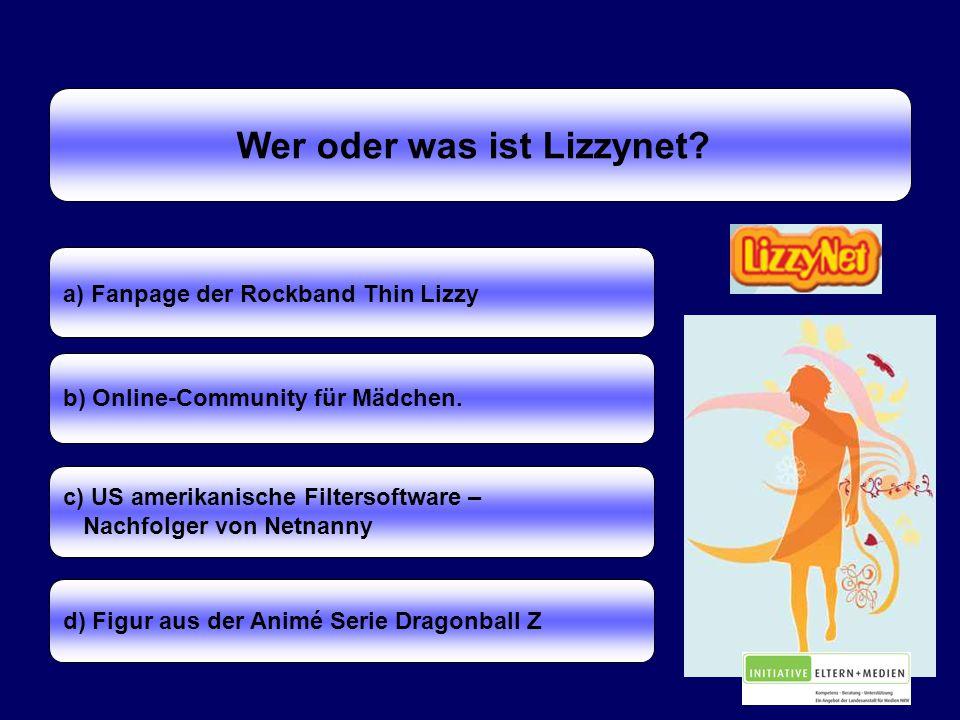 Wer oder was ist Lizzynet