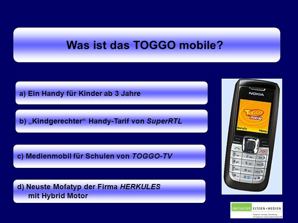 Was ist das TOGGO mobile