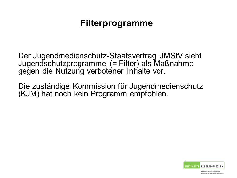Filterprogramme