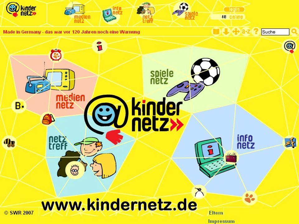 www.kindernetz.de Was ist das Kindernetz