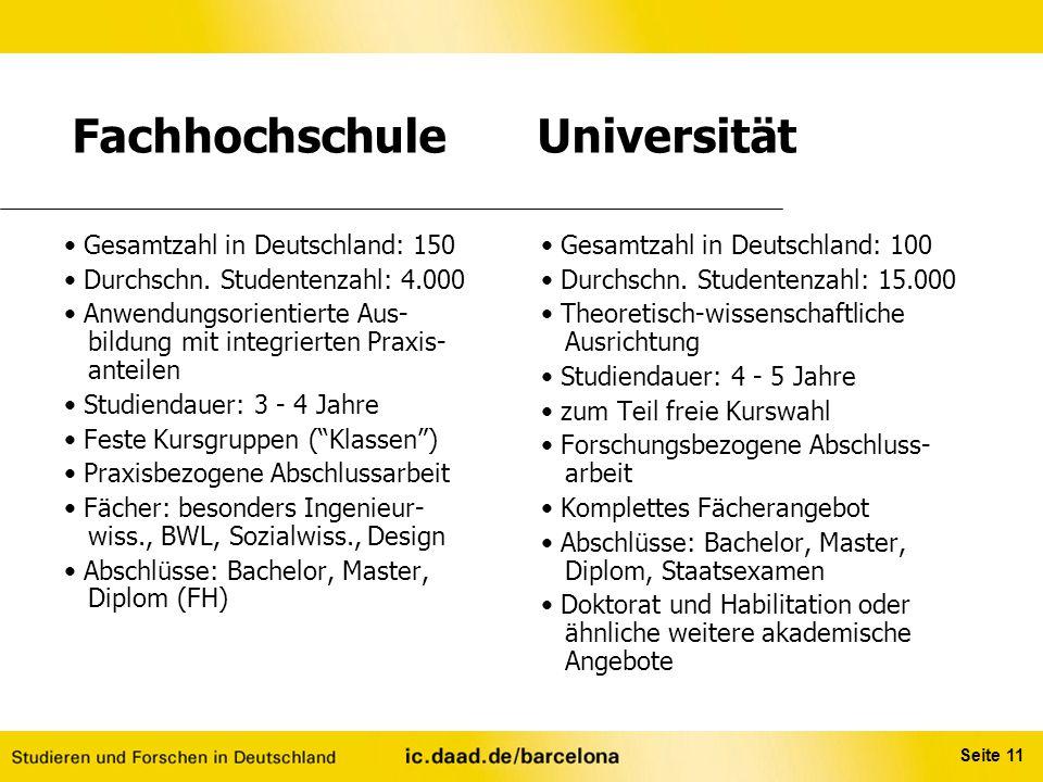 Fachhochschule Universität