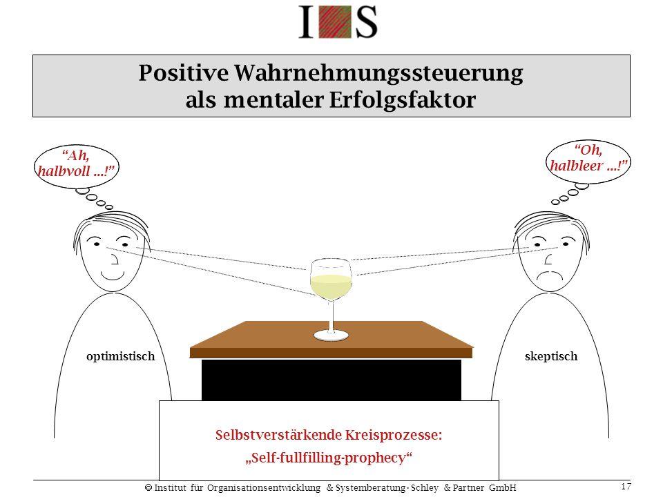 Positive Wahrnehmungssteuerung als mentaler Erfolgsfaktor