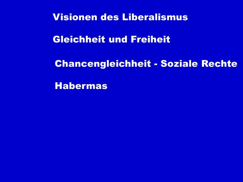 Visionen des Liberalismus