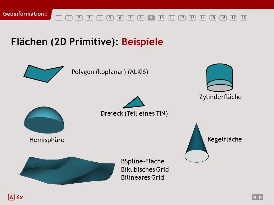 Flächen (2D Primitive): Beispiele