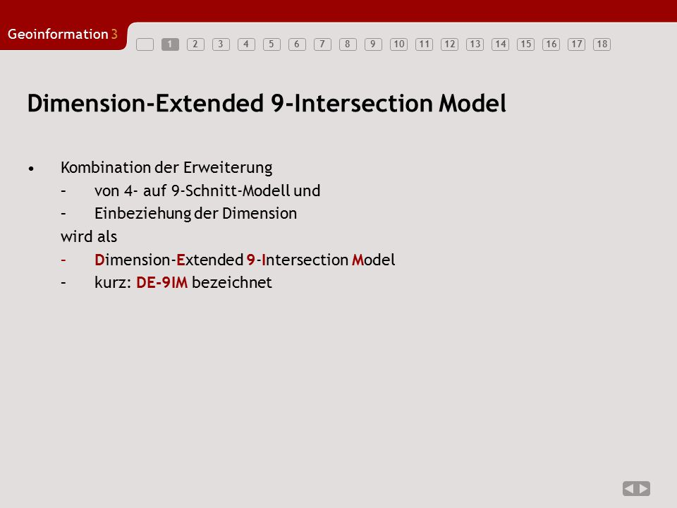 Dimension-Extended 9-Intersection Model