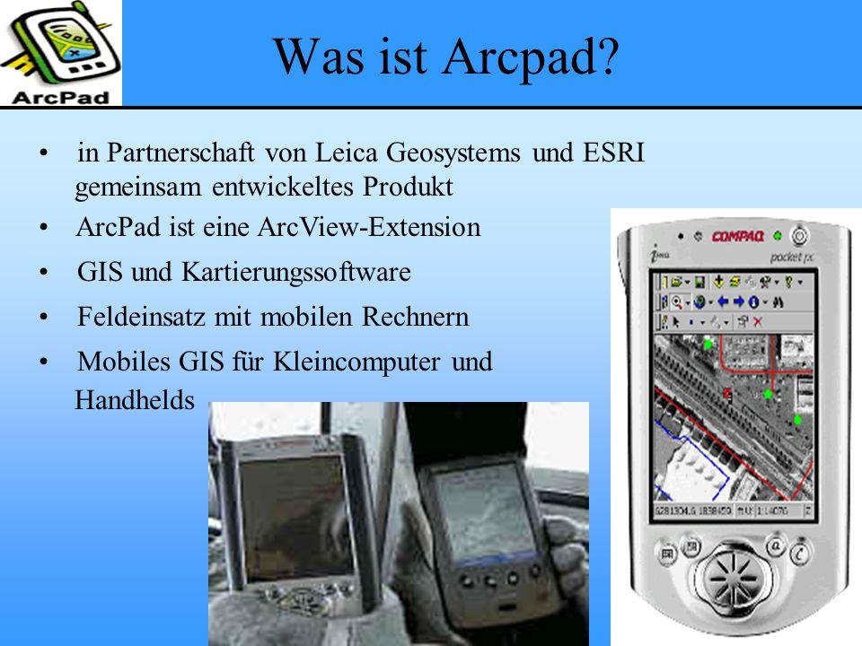 Was ist Arcpad in Partnerschaft von Leica Geosystems und ESRI